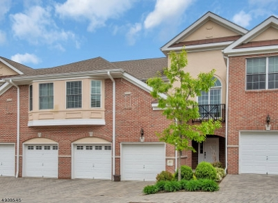 Livingston Twp. NJ Condo/Townhouse For Sale: $765,000