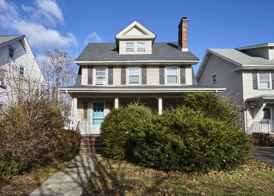South Orange Village Twp. Single Family Home For Sale: 443 S Orange Ave