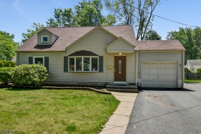West Orange Twp. NJ Single Family Home For Sale: $370,000