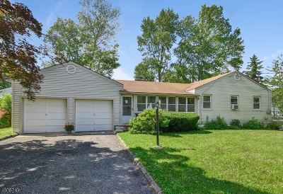 Parsippany-Troy Hills Twp. Single Family Home For Sale: 265 Lake Shore Dr
