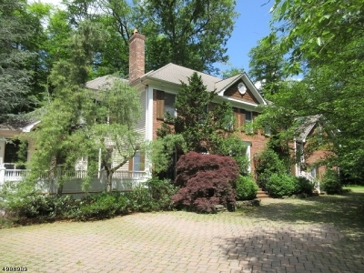 Harding Twp. NJ Single Family Home For Sale: $933,300