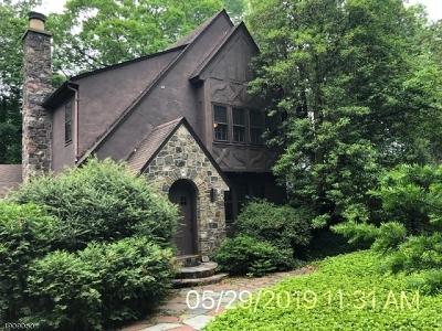 Mountain Lakes Boro Single Family Home For Sale: 057 Crane Rd