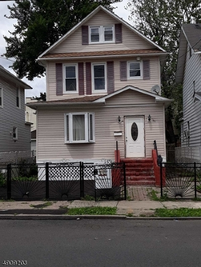 Paterson City Single Family Home For Sale: 309-311 19th Ave