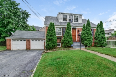 West Caldwell Twp. Single Family Home For Sale: 114 Lane Ave