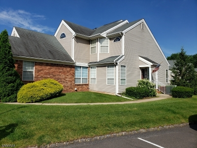 Readington Twp. Condo/Townhouse For Sale: 193 Yarrow Ct