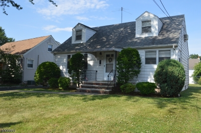 Kenilworth Boro Single Family Home For Sale: 130 N 22nd St