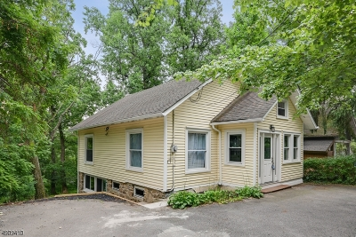 High Bridge Boro Single Family Home For Sale: 144 Fairview Ave