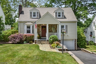 Chatham Twp. Single Family Home For Sale: 7 Long Hill Ln