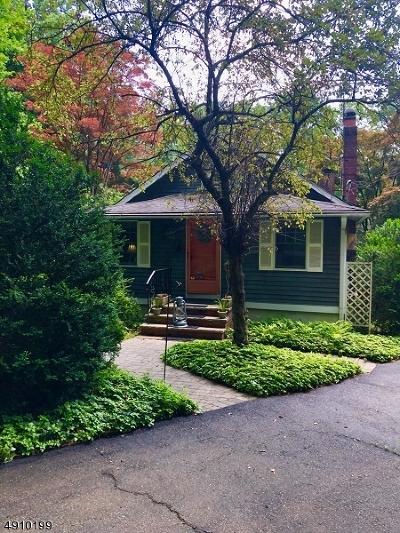 Mendham Boro, Mendham Twp. Single Family Home For Sale: 136 Mountainside Rd