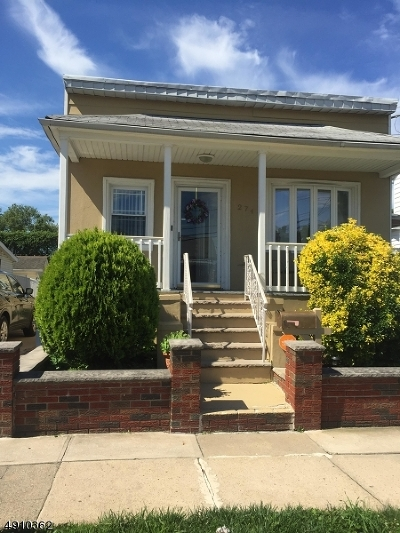 Hillside Twp. Single Family Home For Sale: 274 William St