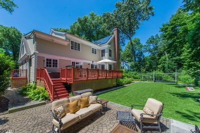 Chatham Twp. Single Family Home For Sale: 13 Oak Hill Rd