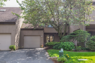 Morristown Town, Morris Twp. Condo/Townhouse For Sale: 3 Carolyn Ct