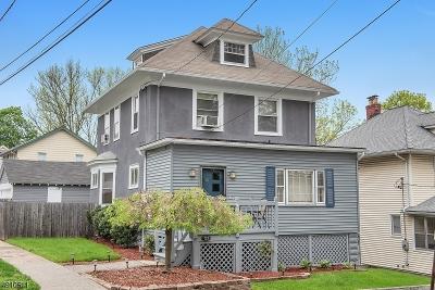 West Orange Twp. Single Family Home For Sale: 21 Wellington Ave
