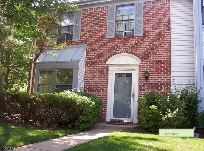 Franklin Twp. NJ Condo/Townhouse For Sale: $262,900