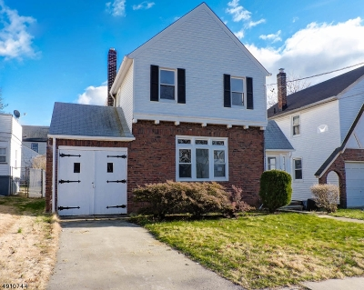 Hillside Twp. Single Family Home For Sale: 1451 Highland Ave