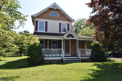 Readington Twp. Single Family Home For Sale: 2 Pulaski Rd