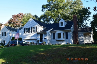 Westfield Town Single Family Home For Sale: 321 Benson Pl