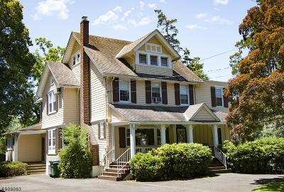 Fanwood Boro Single Family Home For Sale: 115 N Martine Ave
