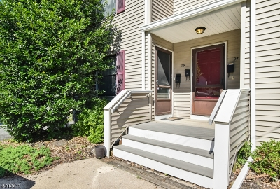 Morristown Town, Morris Twp. Condo/Townhouse For Sale: 29-A Cobb Pl
