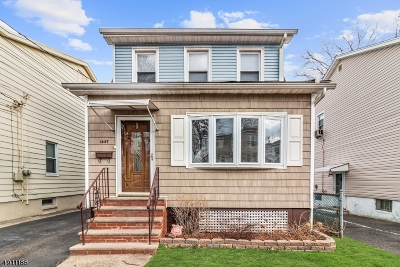 Hillside Twp. Single Family Home Active Under Contract: 1447 Hiawatha Ave