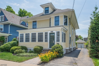 Morris Plains Boro Single Family Home For Sale: 16 Rosedale Ave