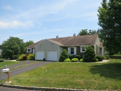 Branchburg Twp. Condo/Townhouse For Sale: 22 Arapaho Trl