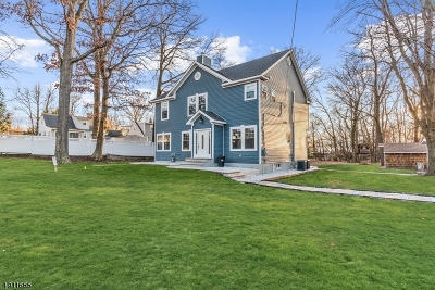 Fanwood Boro Single Family Home For Sale: 36 Stagaard Pl
