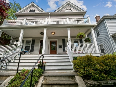 Morristown Town, Morris Twp. Condo/Townhouse For Sale: 63 Wetmore Ave #A
