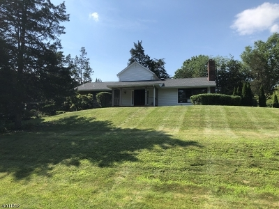 Bedminster Twp. Single Family Home For Sale: 6 Ski Hill Dr