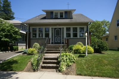 Hawthorne Boro NJ Single Family Home For Sale: $439,900