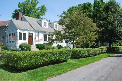 Fanwood Boro Single Family Home For Sale: 191 Paterson Rd