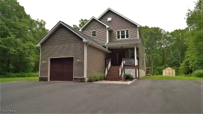 Stillwater Twp. Single Family Home For Sale: 918 Possum Hill Rd