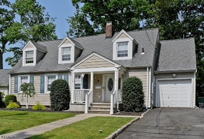 Parsippany-Troy Hills Twp. Single Family Home For Sale: 3 Ronald Road