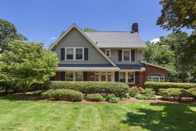South Orange Village Twp. Single Family Home For Sale: 462 Redmond Rd