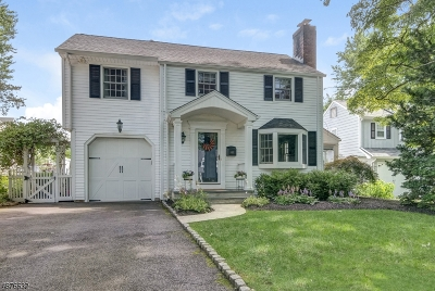 Westfield Town NJ Single Family Home For Sale: $920,000
