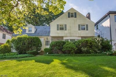 Passaic City Single Family Home For Sale: 141 Ridge Ave