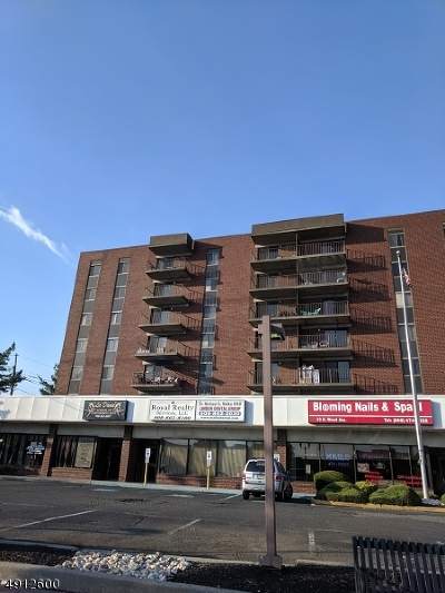 Linden City Condo/Townhouse For Sale: 10 N Wood Ave Unit 216