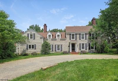 Harding Twp. NJ Single Family Home For Sale: $1,600,000