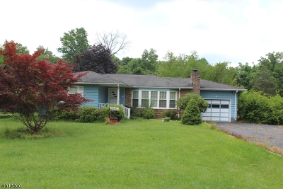 Raritan Twp. Single Family Home For Sale: 6 Meadowbrook Rd