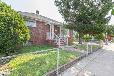 Totowa Boro Single Family Home For Sale: 58 Jefferson Pl