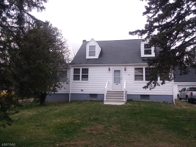 Hanover Single Family Home For Sale: 151 Parsippany Rd