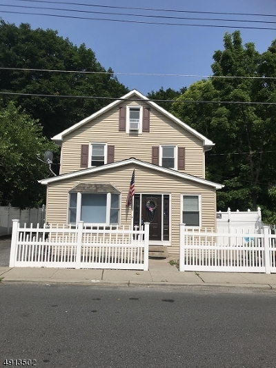 Franklin Boro Single Family Home For Sale: 347 Rutherford Ave