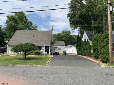 West Orange Twp. NJ Single Family Home For Sale: $429,000
