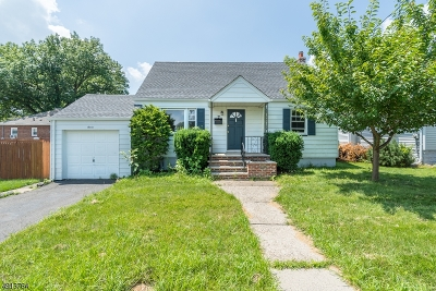 Linden City Single Family Home For Sale: 7 Gresser Ave