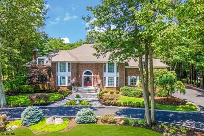 Franklin Lakes Boro Single Family Home For Sale: 833 Trailing Ridge Rd