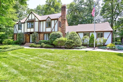 Parsippany-Troy Hills Twp. Single Family Home Active Under Contract: 12 Hennion Dr