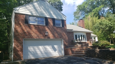 Morris Plains Boro Single Family Home For Sale: 3 Dogwood Rd