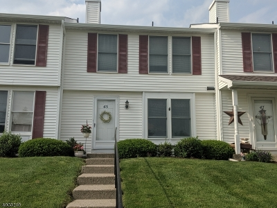 Franklin Boro Condo/Townhouse For Sale: 45 Liberty Ln