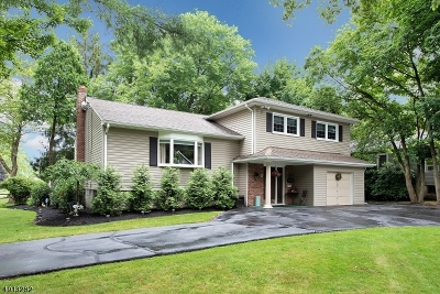 West Caldwell Twp. Single Family Home For Sale: 52 Dalewood Road