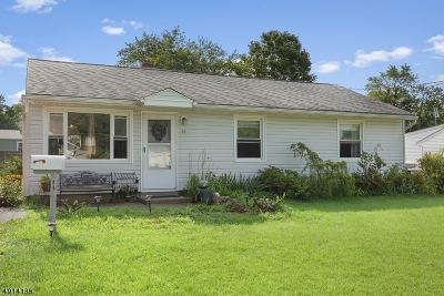Bridgewater Twp. Single Family Home For Sale: 44 Adamsville Rd